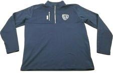 New listing Sporting Kansas City FC Adidas Golf Mens Blue Sweatshirt Size Large