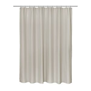 """""""Grace"""" Jacquard 70""""x72"""" Shower Curtain in White"""
