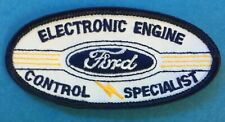 1980's Ford Electronic Engine Control Specialist Hat Jacket Coveralls Patch 027T