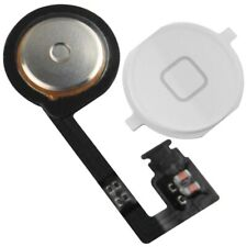 iPhone 4S Home Button with Flex Cable Assembly Replacement Part WHITE New
