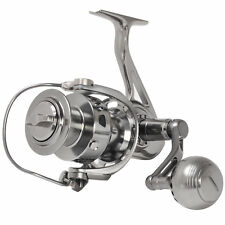 CNC MACHINED POWERFUL FULL METAL SPINNING FISHING REEL 20KG 44LB DRAG