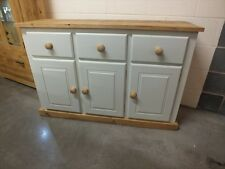 SOMERSET PAINTED 3 DOOR 3 DRAWER SIDEBOARD HAND MADE SOLID BESPOKE COLOUR SIZE