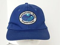 NOAA Sustainable Seas Expeditions Blue Ball Cap Hat Strapback