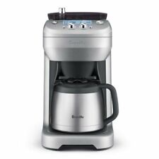 Breville Grind Control Drip 12-Cup Coffee Maker (BDC650BSS) Silver NEW!