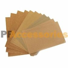 12 Sheets Assorted Grits Sandpaper Sanding Paper 9 x 11