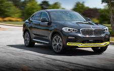 Neuf D'Origine BMW X4 G02 X-Line Underride Protection avant Chrome 7418764 Oem
