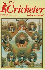 THE CRICKETER INTERNATIONAL MAGAZINE 1985 - ALL ISSUES COMPLETE