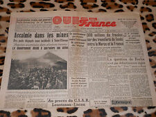 OUEST-FRANCE - Edition Manche-Sud - N°  1259 - Jeudi 28 Octobre 1948