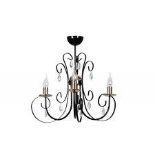1-3 Markenlose Deckenlampen & Kronleuchter im Vintage/Retro-Stil aus Glas