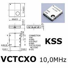 🌟 🌟 🌟 SUPER-SUPER-Offre 🌟 🌟 🌟 5x haute précision VCTCXO - 201-ca 10.0 MHz 2.5ppm 5 V