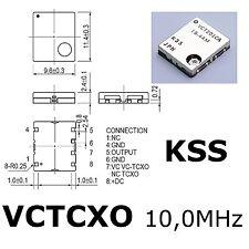 1x  VCTCXO-201-CA 10.0MHz 2.5ppm 5V , voltage contr. Crystal Oscillator KSS