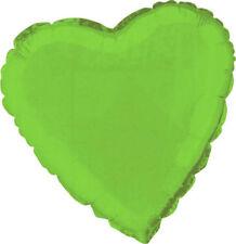 Ballon Métal Coeur Vert Anis décoration de salle Mariage Baptême Fête