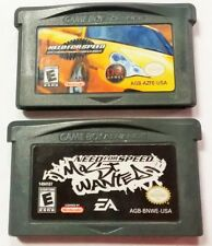(2) Need For Speed: Porsche Unleashed & Most Wanted Game Boy Advance GBA Tested