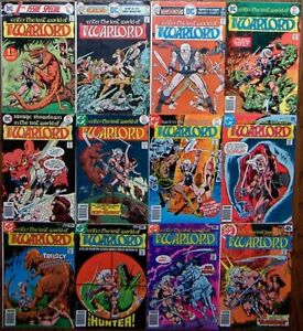 Warlord lot of 13: Original Mike Grell, incl 1st Issue Special #8 + #1 2 3 4 5 7