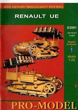 Card Model Kit – Renault UE Tankette