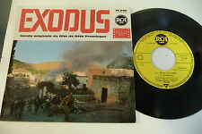 EXODUS 45T OST OTTO PREMINGER. ERNEST GOLD ET L'ORCHESTRE DE LONDRES. RCA FRENCH