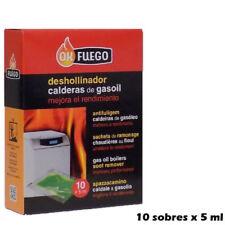 Deshollinador en sobres con líquido, para Calderas de Gasoil. (10 unidades)