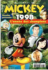 LE JOURNAL DE MICKEY n°2427 ¤ 1998 ¤ L'ANNEE DES CHAMPIONS