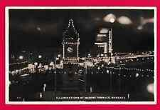 Unposted card. Illuminations at Marine Terrace, Margate, Kent