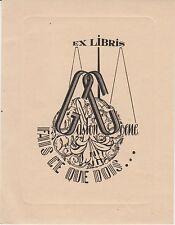 § Ex-libris Gaston COENE - 20e siècle §