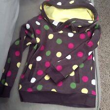 Girls medium (7/8) pullover polka dot fleec from Gymboree