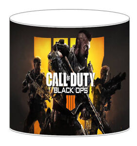 Call Of Duty Black Ops 4 IV Children's Drum Lampshades Bedding Curtains