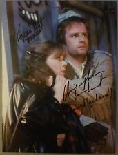[A0778] Christopher Lambert Roxanne Hart Highlander Signed 16x12 Photo AFTAL