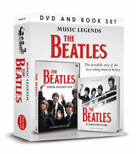 THE BEATLES MUSIC LEGENDS DVD / BOOK GIFT PACK SET 50 FABULOUS YEARS SEALED BOX