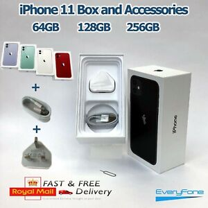 iPhone 11 empty box only with Accessories 64GB 128GB 256GB