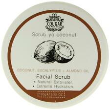 Cougar Face Scrub Coconut Eucalyptus & Almond Oil Hydrating Cleanser Exfoliator
