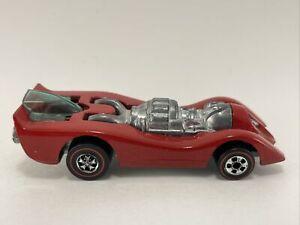 1970 Hot Wheels Original Redlines ENAMEL RED JET THREAT super clean FREE SHIPPIN