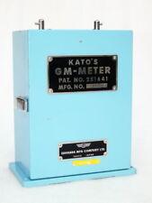 KATO'S G M METER ISHIHARA TOKYO JAPAN DEGREE SLIDE RULE ELECTRIC WAVELENGTH