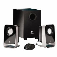 Logitech LS21 2.1Ch Multimedia Stereo Speaker System With Subwoofer For PC MP3