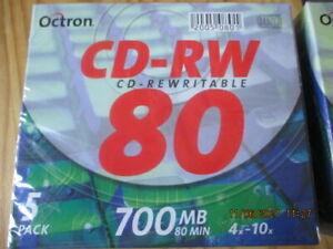 Rohlinge CD-RW Audio ,bitte Fotos ersehen (2 päckchen )