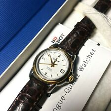 Tissot Watch Automatic (T55.0.213.11) Leather Womens Ladies NEW Boxed