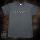 Bridgeport Milling Machine Grey Logo T Shirt (rare vintage logo) Grey FREE SHIP