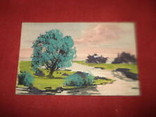French Single Abstract Collectable Artist Signed Postcards