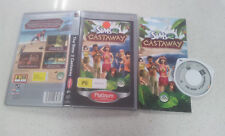 The Sims 2 Castaway PSP Game With Manual