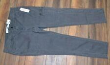 Sonoma Stretch Jeans Skinny Leg Gray Cargo Denim Jean Wash is Heavy Lead