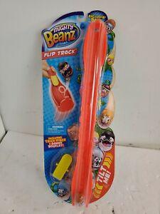 Mighty Beanz Flip Track - Series 1 - Orange