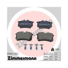 Bremsbelagsatz, Scheibenbremse ZIMMERMANN 23554.170.1 für FIAT FORD SKODA VW VAG