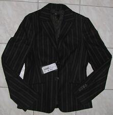 Hugo Boss Damen Blazer Gr. 34 Janna Streifen Jacket Business Top Black NP 420€