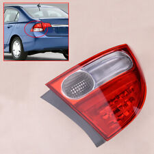 Left ABS Rear Taillight Tail Light Brake Lamp Fit For Honda Civic Sedan 2009-11