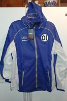 Chip Ganessi Racing Sabates Ford Ecoboost Mens Circuit Wind Jacket NWT Large