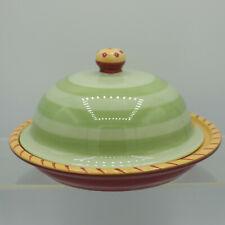 Round Covered Dessert Butter Dish Secrets of Pistoulet Jana Kolpen Pfaltzgraff