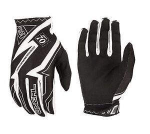 O'Neal Matrix RACEWEAR Men's Cycling Full Finger Gloves Black White Size S/M/XL
