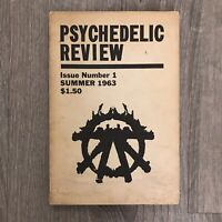 FIRST EDITION! PSYCHEDELIC REVIEW Issue Number 1 Timothy Leary 1963
