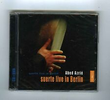 CD + DVD  (NEW) ABED AZRIE SUERTE LIVE IN BERLIN