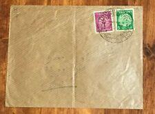 Israel 1949 Cover to Jerusalem Doar Ivri Stamps