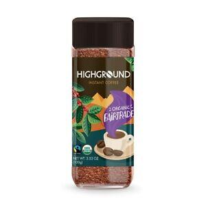 Highground Instant Coffee Organic Fairtrade